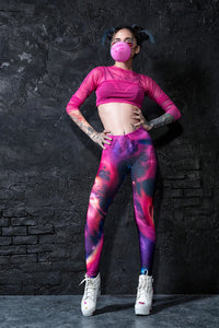 Farthest Galaxy Leggings Leggings >> BADINKA