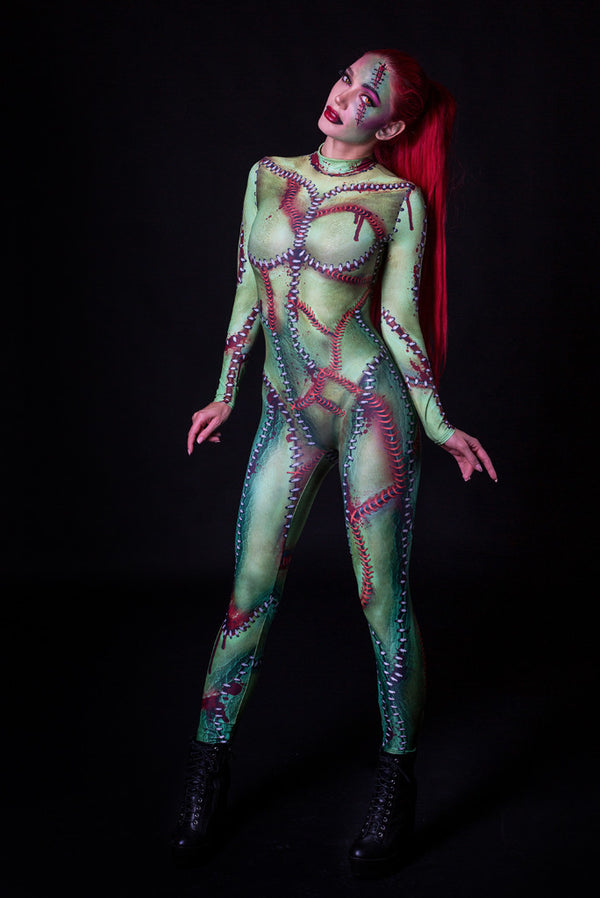 Frankenstein's Bride Costume Bodysuit >> BADINKA (close look)