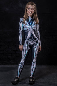 Girl's Machina Costume Bodysuit >> BADINKA