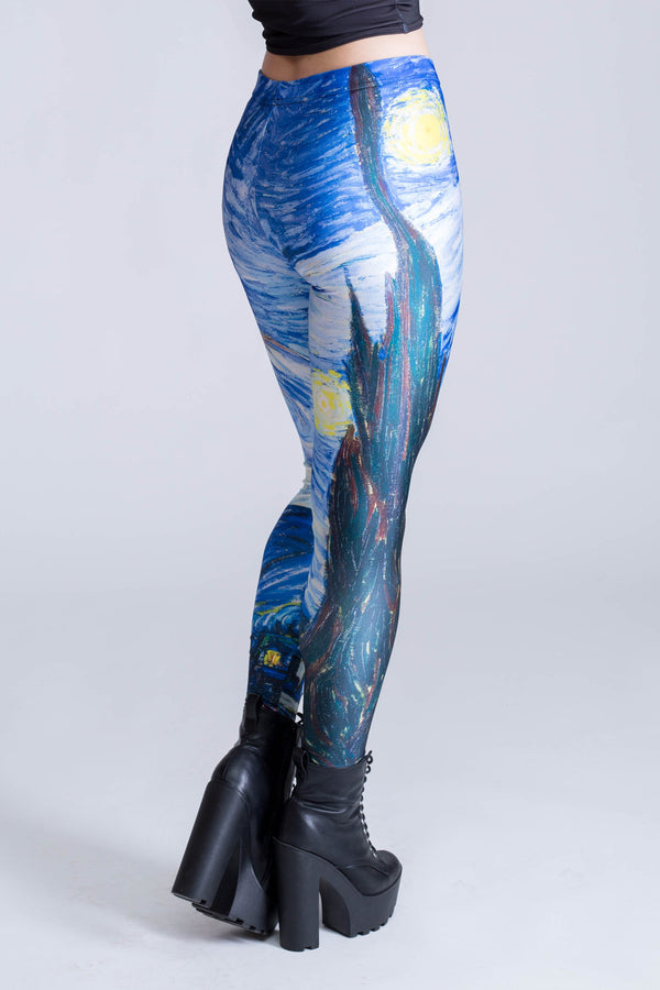 Starry Night Leggings (close look)