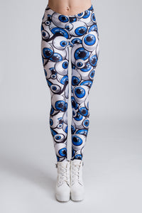 Behind Blue Eyez Leggings Leggings >> BADINKA