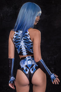 X-Ray Skeleton Shorts Shorts >> BADINKA
