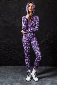 I SEE YOU PURPLE FIT ONESIE Fit Onesie >> BADINKA