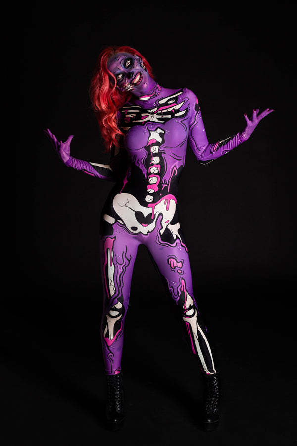 Purple Pop Art Costume (close look)