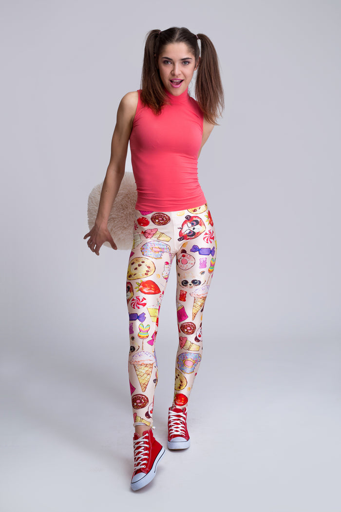 Candy Leggings Beige