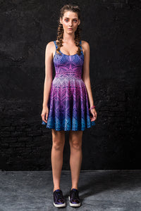 Oziris Skater Dress Dresses >> BADINKA
