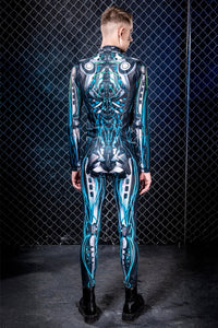 Men's Ghost Machina Costume