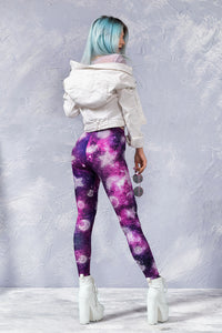 Hitchhiker's Galaxy LEGGINGS Leggings >> BADINKA