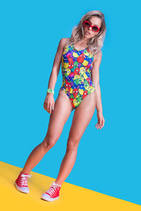 WACKY BIRDZ ONE PIECE Swimwear >> BADINKA