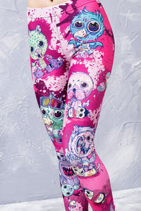 HAPPY MEAL LEGGINGS Leggings >> BADINKA
