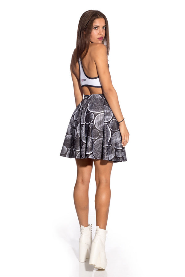 Minimalistic Skater Skirts Skirts >> BADINKA (close look)