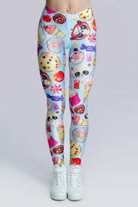 Candy Leggings Leggings >> BADINKA