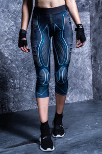 Riot Robot Capri Leggings Capri Leggings >> BADINKA