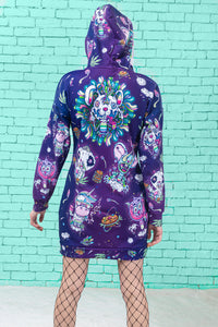 Psychotropic Jungle Hoodie Hoodies >> BADINKA