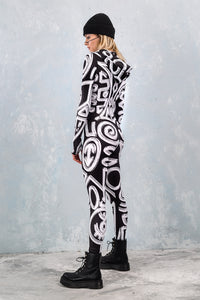 THE TRIBE IS CALLING DARK FIT-ONESIE Fit Onesie >> BADINKA