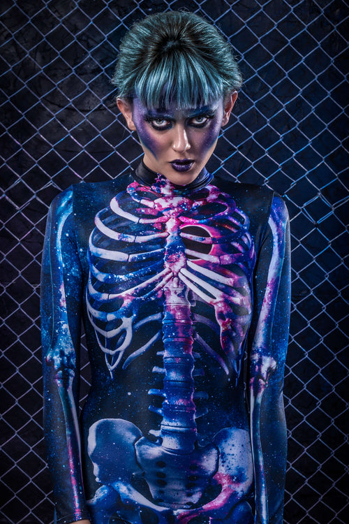 Nebula Skeleton Costume
