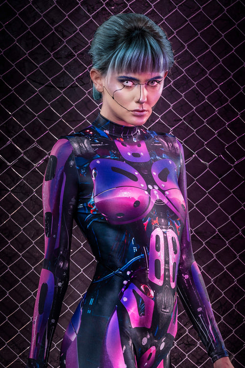 Cyberware Android Magenta Costume