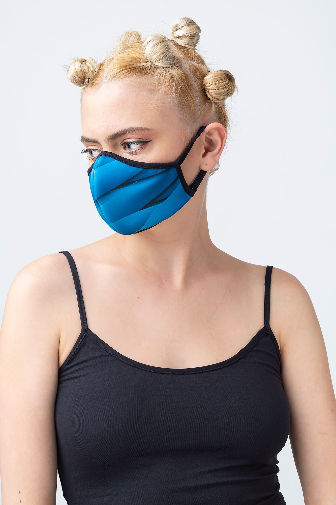 Blue Zone Face Mask