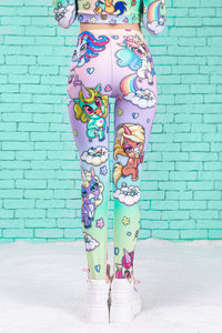 Cuteness Overload Warm Leggings Winter Leggings >> BADINKA