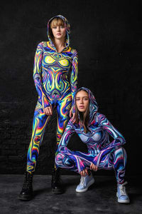 Jaded Liquid Fit Onesie Fit Onesie >> BADINKA