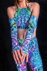 Liquid Insect Leggings Leggings >> BADINKA