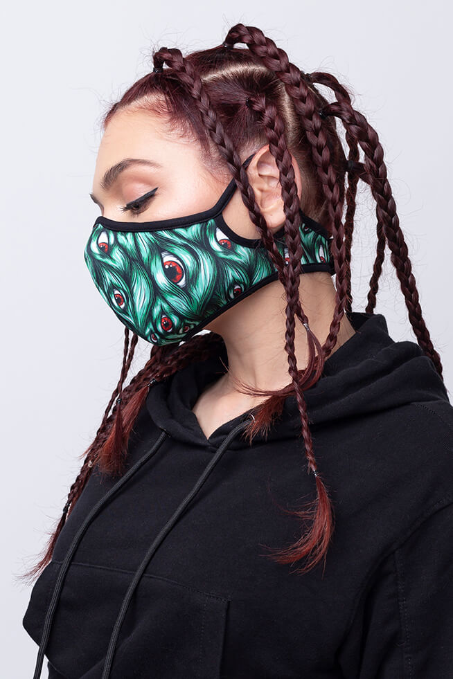 I See You Green Pro Mask