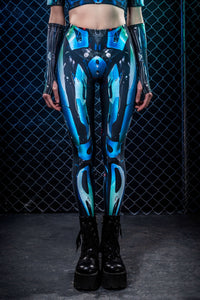 Cyberware Android Leggings Leggings >> BADINKA