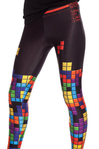 Tetris Leggings Leggings >> BADINKA