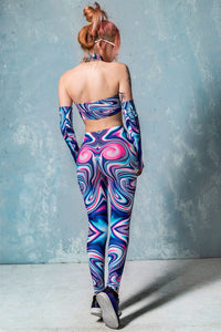 Frenzy Liquid Leggings Leggings >> BADINKA