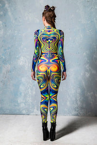 Jaded Liquid Costume Bodysuit >> BADINKA