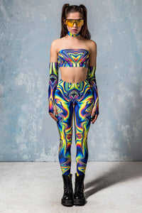 Jaded Liquid Leggings Leggings >> BADINKA