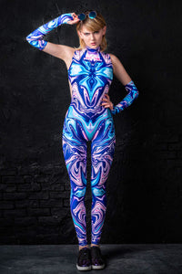 Fierce Fluid Catsuit Bodysuit >> BADINKA