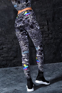 Lost Butterflies Leggings Leggings >> BADINKA