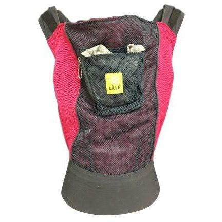 Used Toddler Lillebaby Airflow Carrier- Charcoal with Berry
