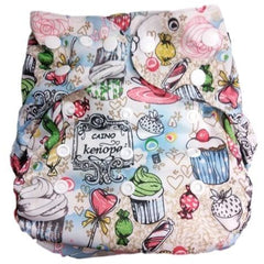 GUC Lil' Bamboo Diaper Cover- Bakery