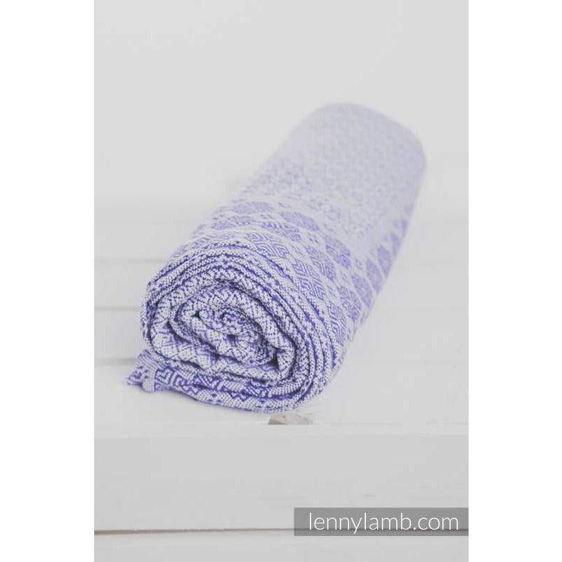 Lenny Lamb Woven Blanket (100% cotton) - Purple