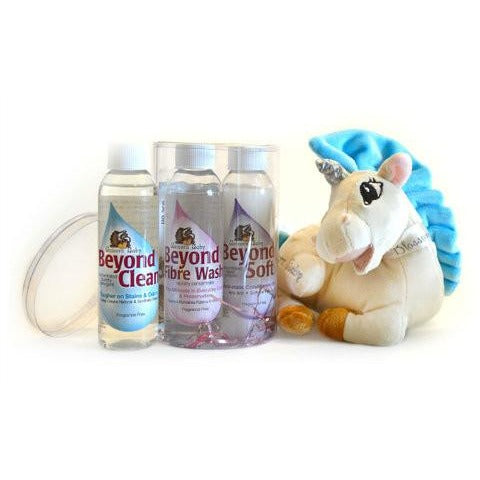 Unicorn Clean 4oz Set with Plush