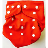 Lil' Bamboo Diaper Cover - Red