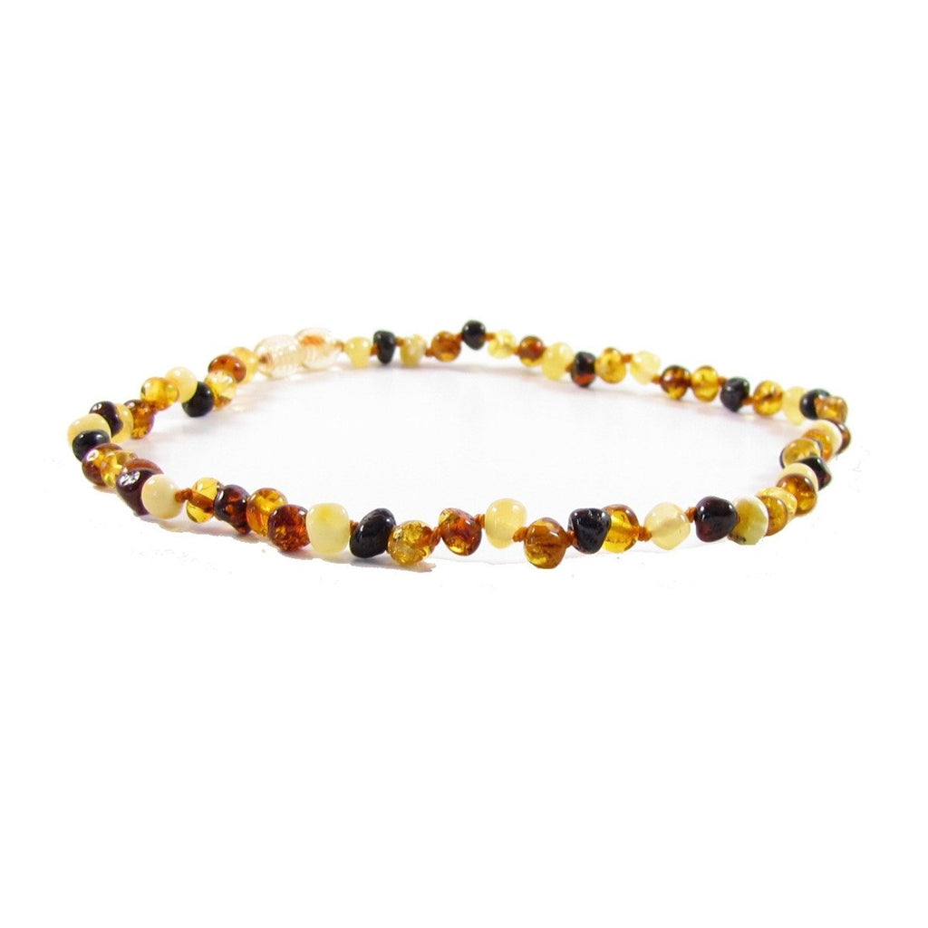 "The Amber Monkey 12""-13"" POP Clasp Amber Necklace"