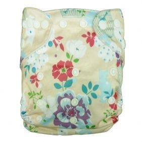 GUC Alva OS Pocket Diaper- Floral Dreams