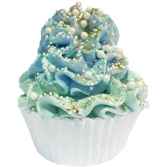 Feeling Smitten Cupcake Bath Bomb - Blueberry Cobbler