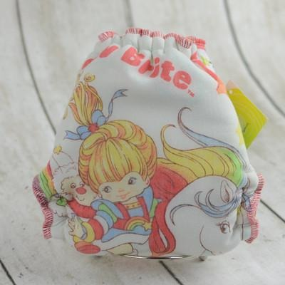 LBF OS - Fitted Diaper - Vintage Rainbow Brite
