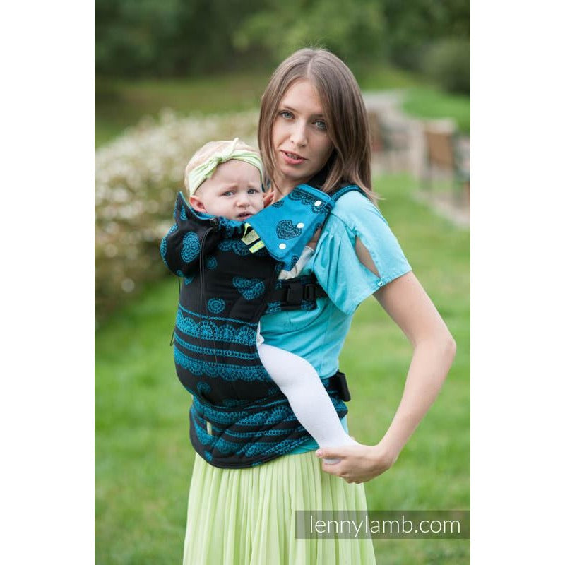 Lenny Lamb Wrap Conversion Ergonomic Carrier, Divine Lace