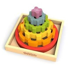 Begin Again Toys - Gear Stacker Stacking Rings