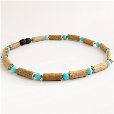 The Amber Monkey Hazelwood Necklaces - 12-13""