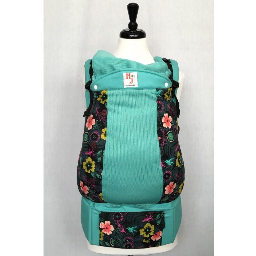 MJ Baby Carrier - Hummingbirds on Fresh Mesh