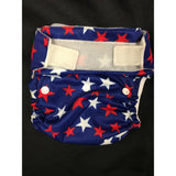 Used Chelory- Blue w/red and white stars