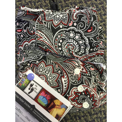 PPS - Black, White & Red Paisley AIO