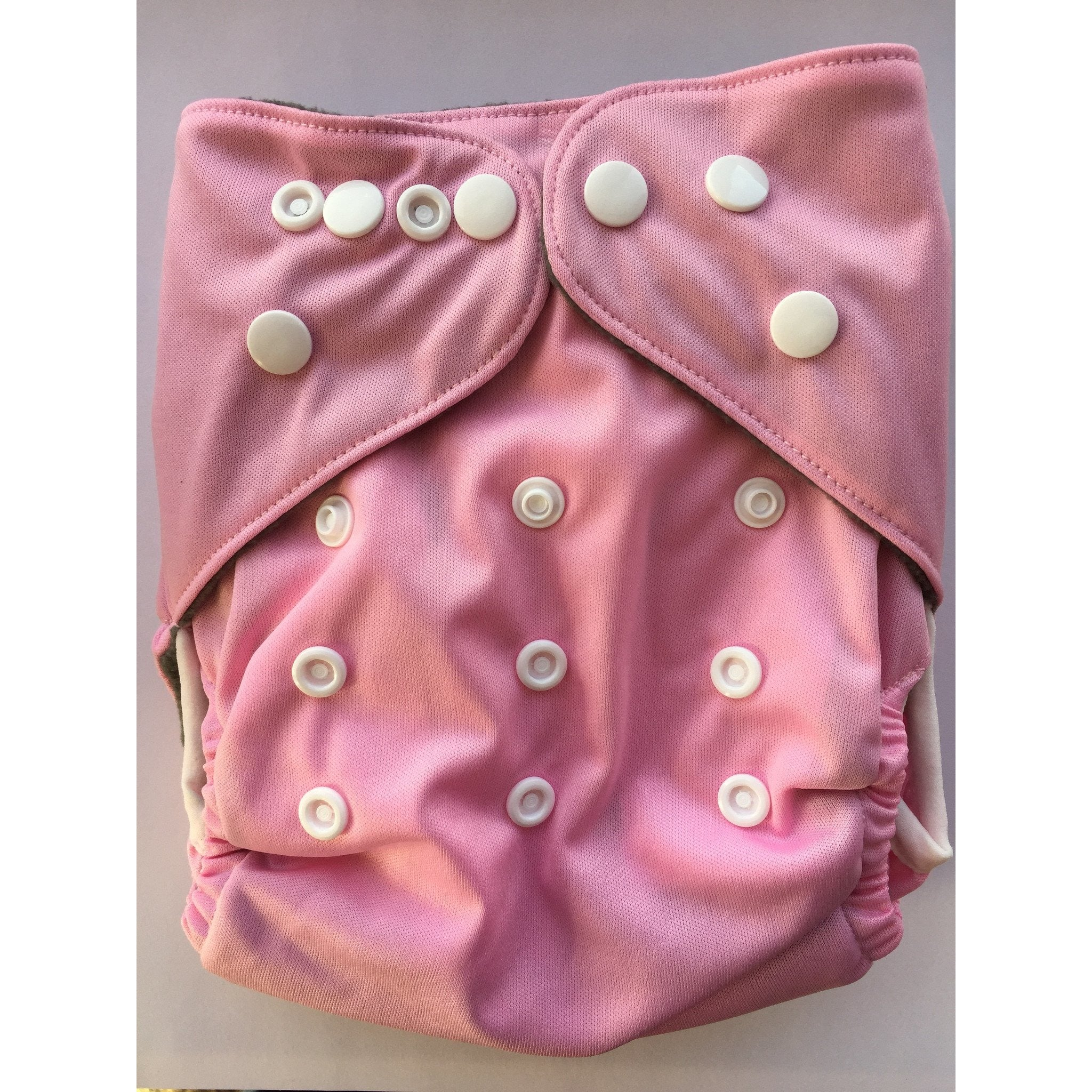 Lil' Bamboo Charcoal Bamboo Pocket Diaper - Pink