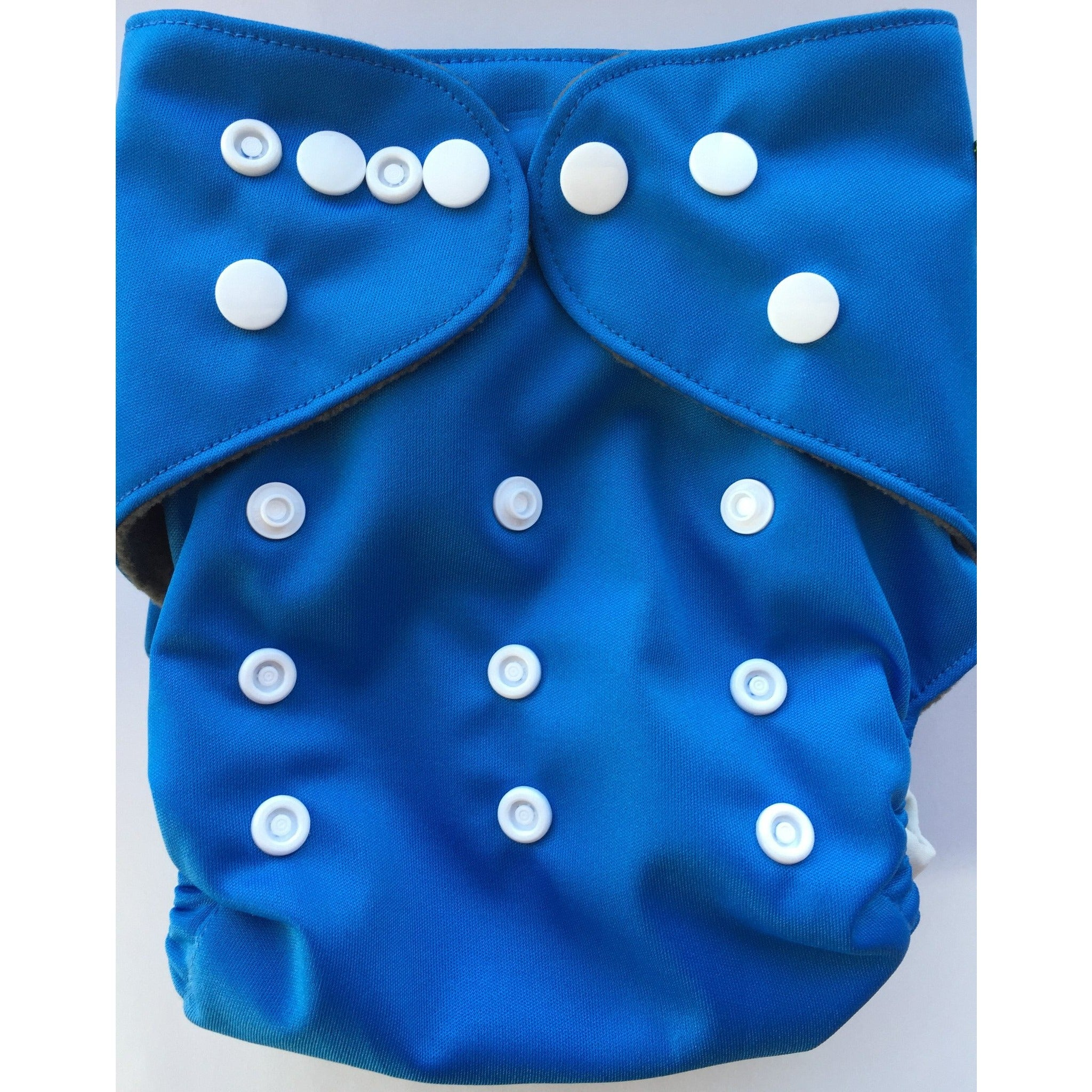 Lil' Bamboo Charcoal Bamboo Pocket Diaper - Royal Blue